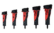 Mounted Hydraulic Breakers - Chicago Pneumatic Tools